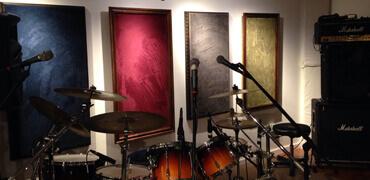 Recording  studios / home studios / music rooms