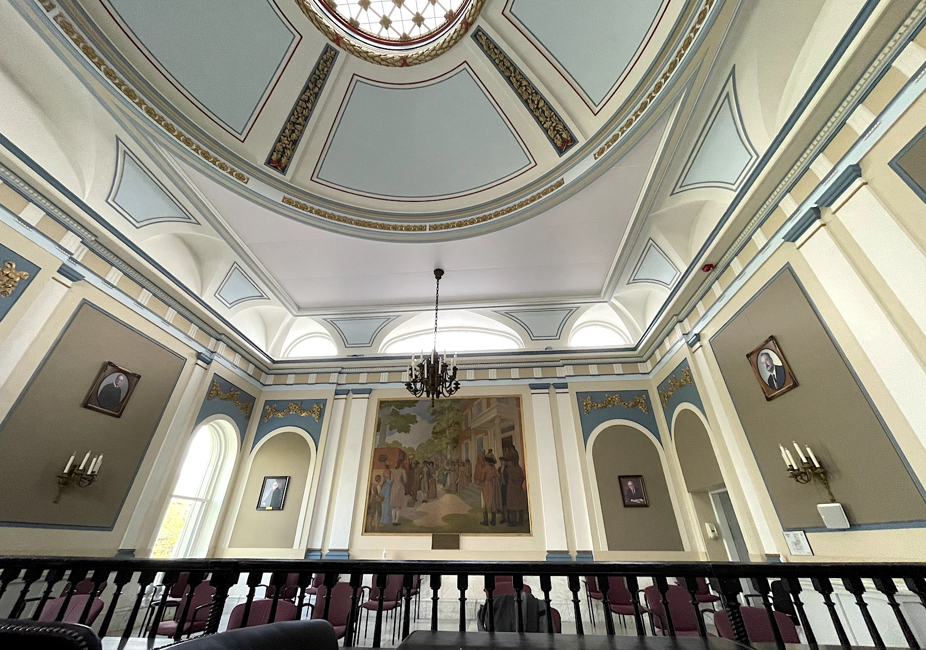 Acoustic Fabric Wall & Ceiling in Historic Building 2