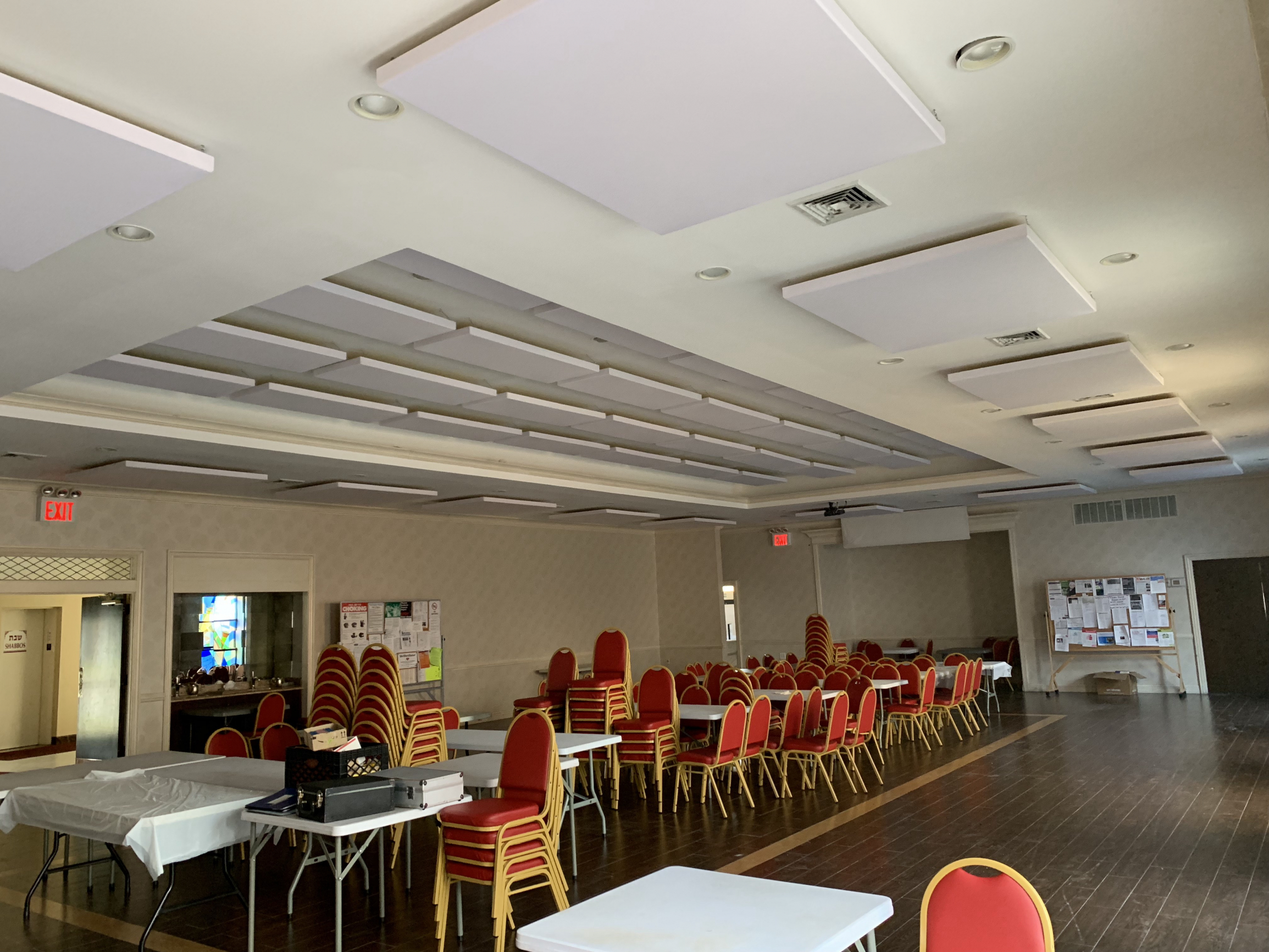 Acoustic Treatment for Hall