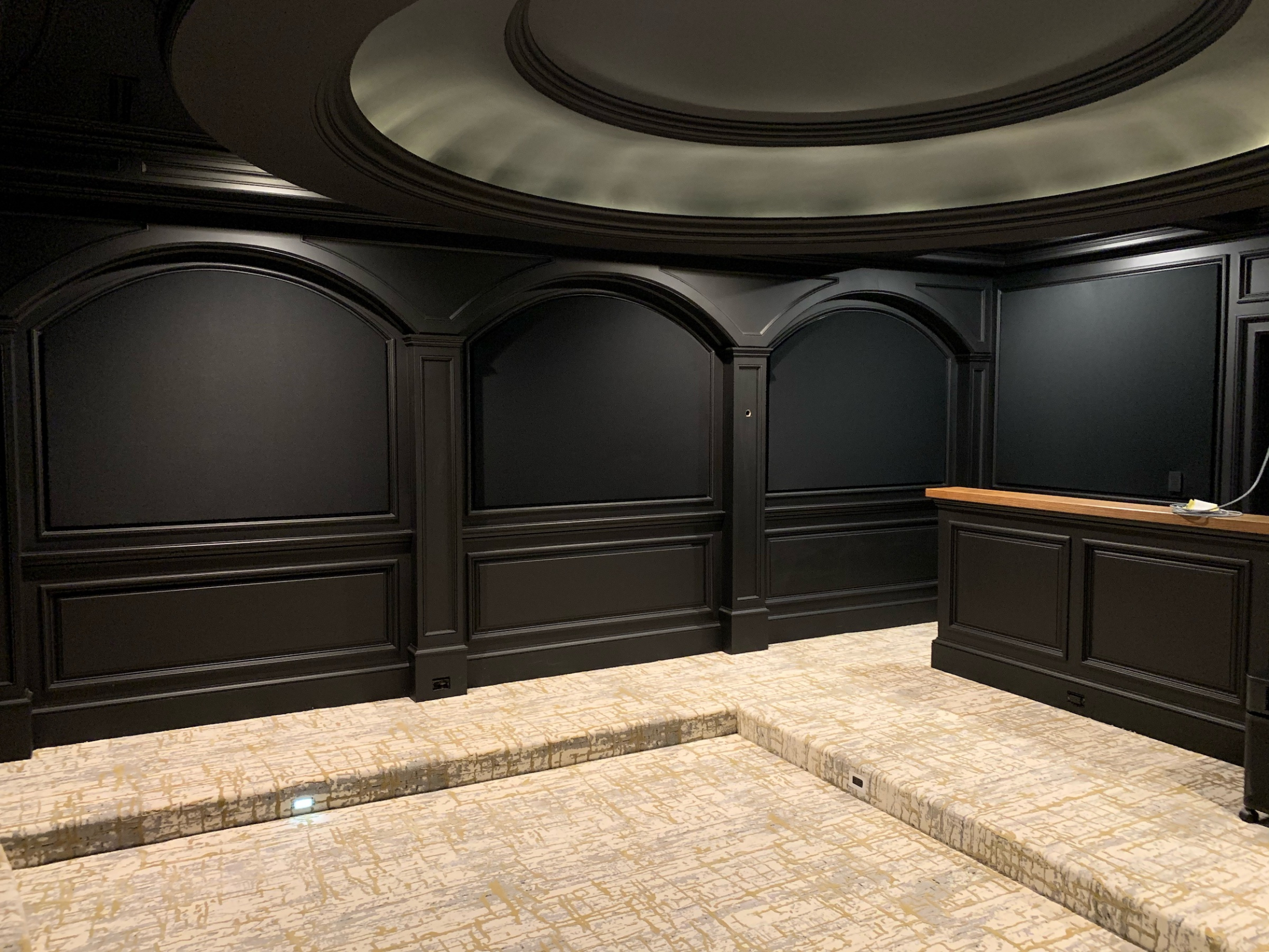 Home Theater in Black