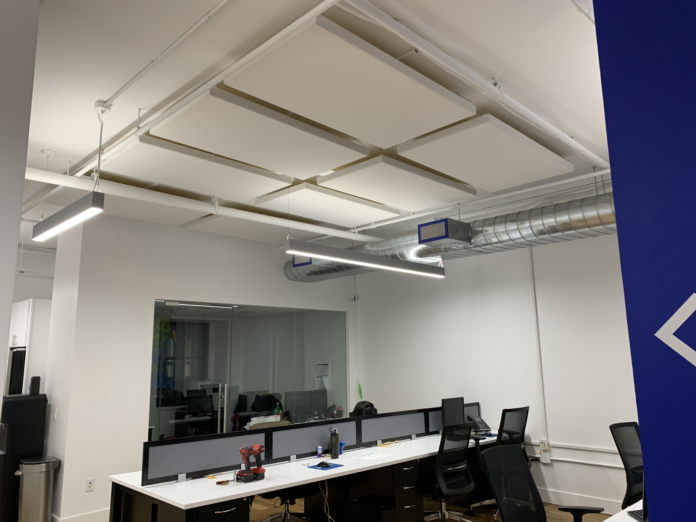 Call Center Acoustic Treatment