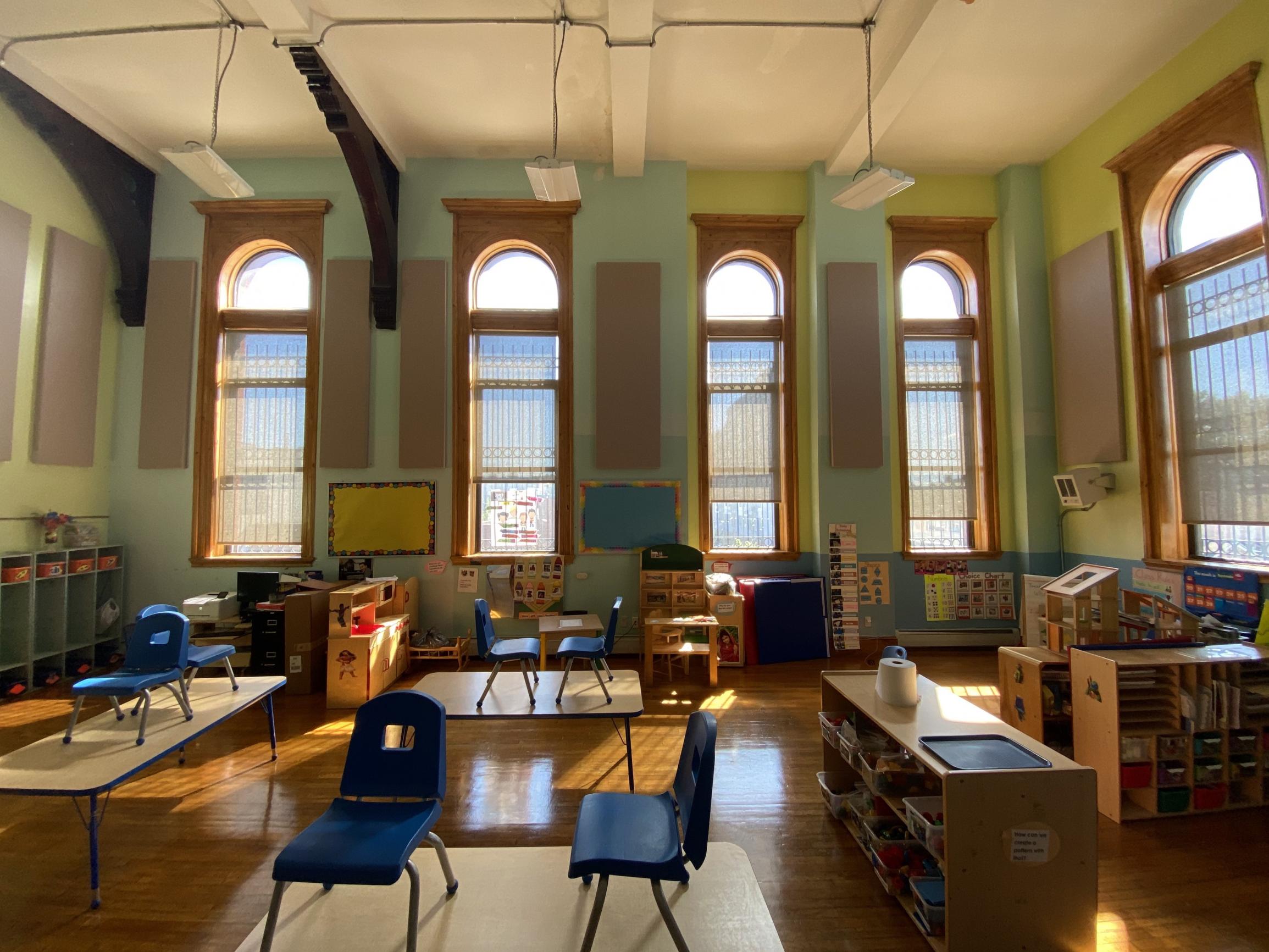 Classroom Echo Reduction