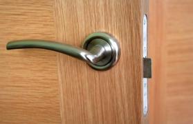 Noise-Reducing Door Treatment